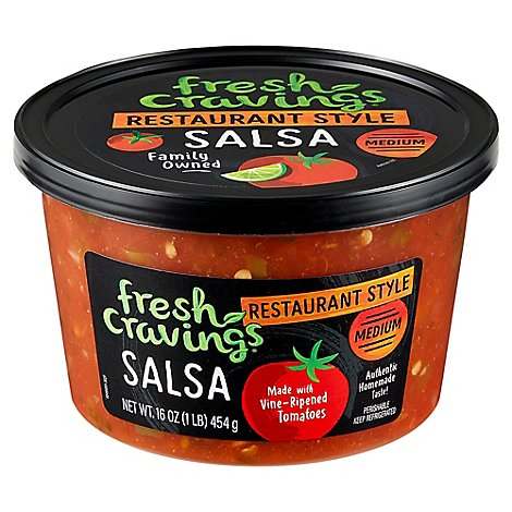 Restaurant Style Medium Salsa - 16 OZ