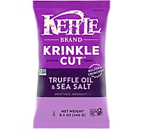 Kettle Foods Chip Kk Truffle Sea Salt - 8.5 OZ