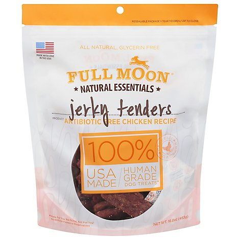 Full Moon Chicken Jerky Tenders Dog Treats - 16 OZ
