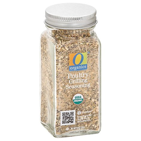 O Organics Chicken Grilling Seasoning - 2.8 OZ