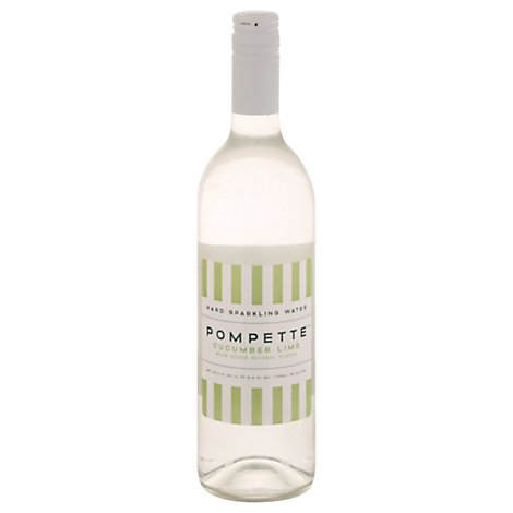 Pompette Cucumber Lime Hard Sparkling Water - 750 ML