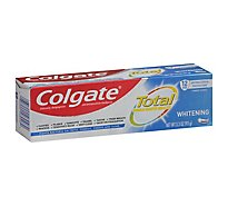 Colgate Total Whitening Toothpaste - 3.3 OZ