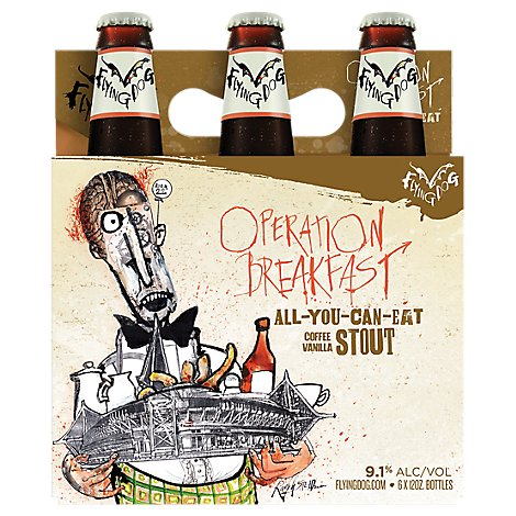 Flying Dog Operation Breakfast Stout In The Bottles - 6-12 FZ