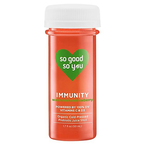 So Good So You Immunity Powered Vitamins - 1.7 OZ