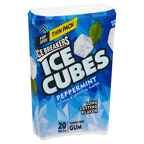 Ice Cubes Peppermint - 1.62 OZ
