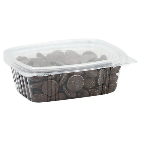 Milk Chocolate Discs Pkgd - 1 LB