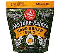 Vital Farms Pasture Rsd Hrd Boiled Eggs - 6 CT