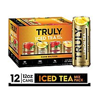 Truly Hard Seltzer Iced Tea Variety In Cans - 12-12 FZ