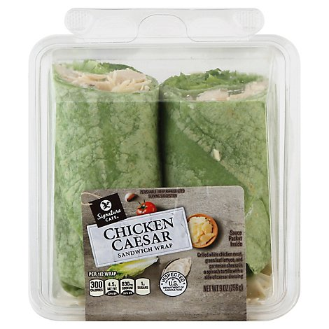 Sandwich Wrap Chicken Caesar - 9 OZ