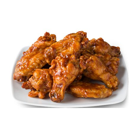 Signature Cafe BBQ Chicken Wings Hot - 0.50 Lb