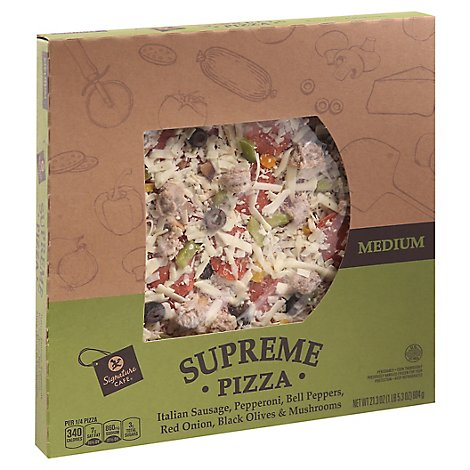 Signature Cafe Pizza Supreme - 21.3 OZ