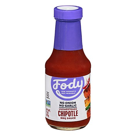 Fody Food Co Bbq Sauce Chipotle - 12 OZ