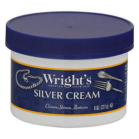 Wrights Silver Polish Cream - 8 OZ