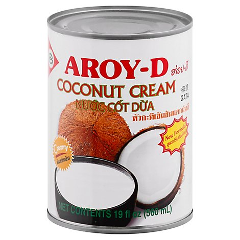 Aroy D Coconut Cream - 19 OZ
