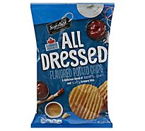 Signature Select Potato Chips All Dressed P65 - 7.5 OZ