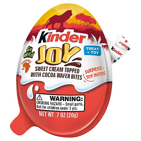 Kinder Egg Go Wild - .7 OZ
