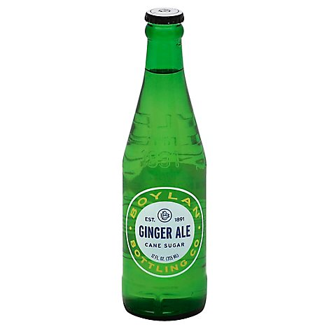Boylan Bottling Ginger Ale Bottle - 12 FZ