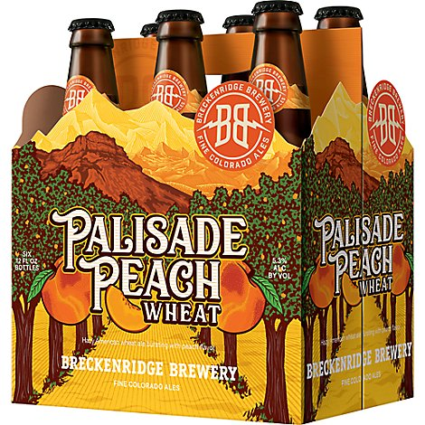 Breckenridge Palisade Peach Wheat In Bottels - 6-12 FZ