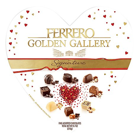 Golden Gallery Heart 28pc - 9.7 OZ