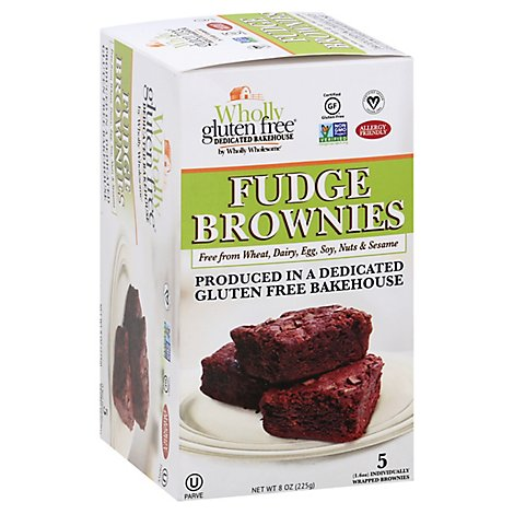 Wholly Wholesome Brownie Frozen Fudge - 8 OZ