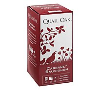 Quail Oak Cabernet 3ltr Box Wine - 3 LT