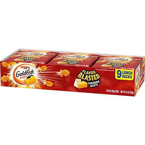 Pepperidge Farm Goldfish Crackers Cheddar Jack - 8.1 OZ