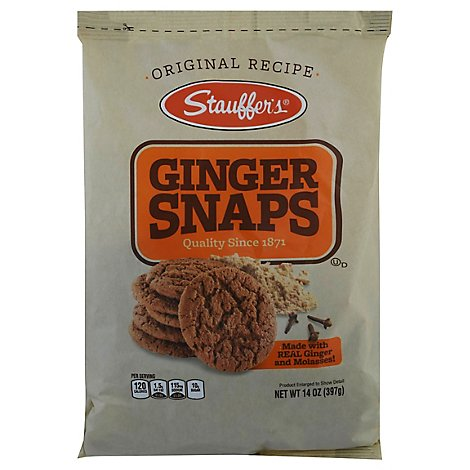 Stauffer Cookie Ginger Snap Originald - 14 OZ