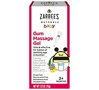Zarbees Naturals Baby Massaging Gel For Gum- .53 Oz