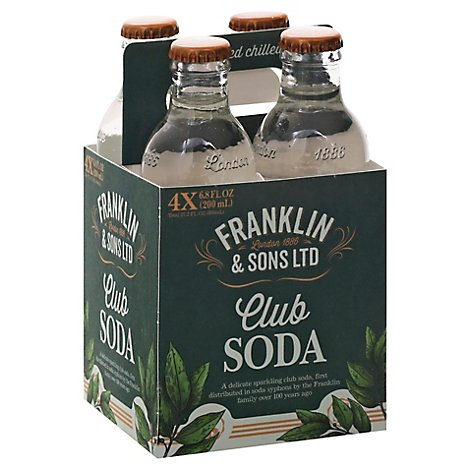 Franklin & Sons Pineapple & Almond Baskt - 4-200 ML