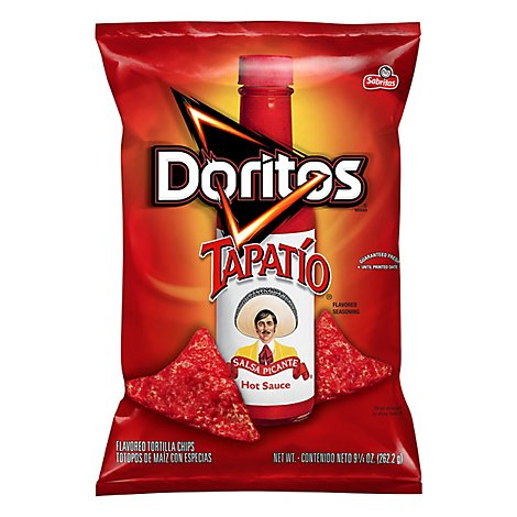 Doritos Tortilla Chips Tapatio Flavored - 9.25 OZ