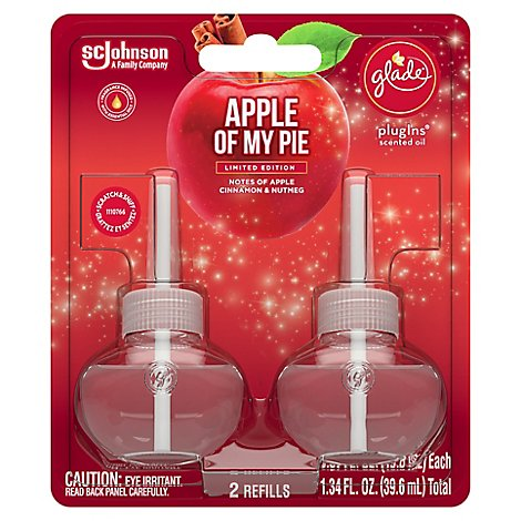 Glade Piso Refills- Apple Of My Pie - 2 CT