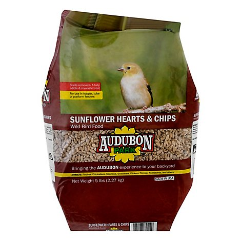 Audubon Park Sunflower Hearts & Chips - 5 LB