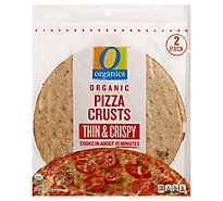 O Organics Pizza Crust Thin Crispy 2pk - 10 OZ