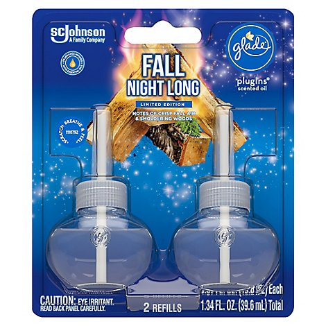 Glade Piso Refills- Fall Night Long - 2 CT