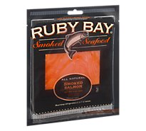 Ruby Bay Natural Smked Salmon - 3 OZ