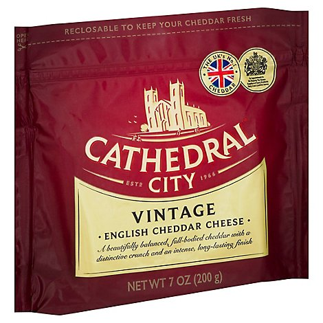 Cathedral City Vintage White Cheddar Cheese - 7 OZ