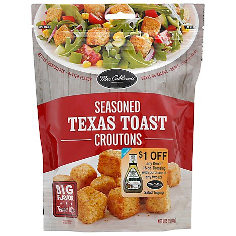 Mrs Cubbisons Croutons Texas Toast - 5 OZ