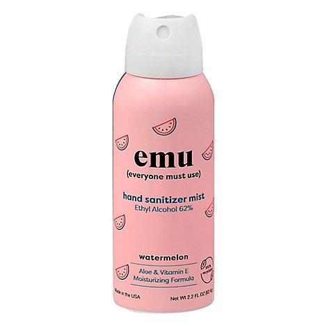 Emu Hand Sanitizer Watermelon - 2.2 FZ