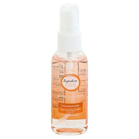 Signature Care Care Hand Sanitizer Spray Chamomile - 2 FZ