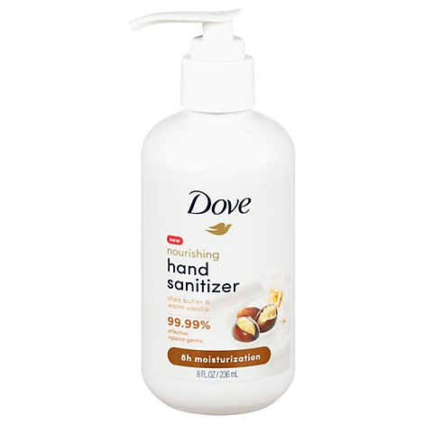 Dove Sanitizer Shea Vanilla - 8 FZ