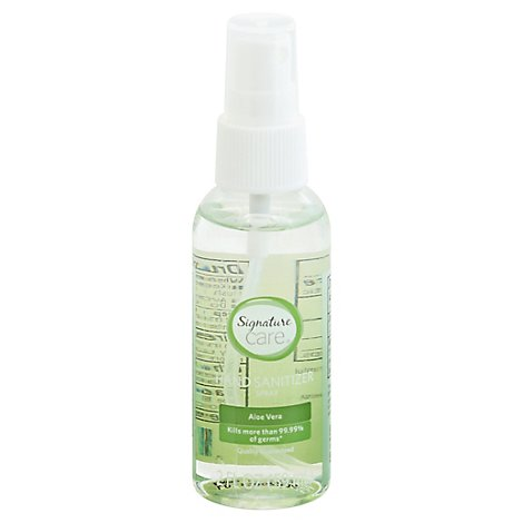Signature Care Hand Sanitizer Spray Aloe - 2 FZ