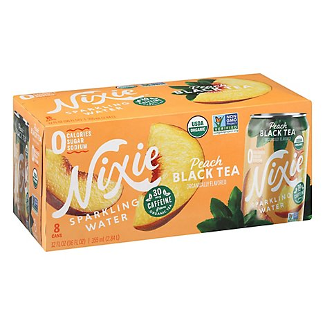 Nixie Sparkling Water Peach Black Tea - 96 FZ