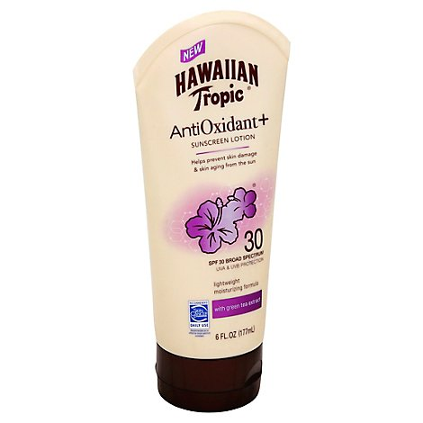 Hawaiian Tropic Antioxidant Spf30 - 6 FZ