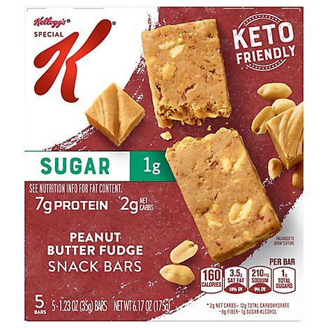 Kelloggs Special K Protein Bars Peanut Butter Chocolate Chip - 6.17 OZ