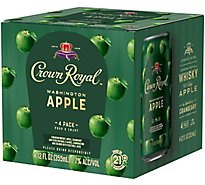 Crown Royal Washington Apple - 4-12 FZ