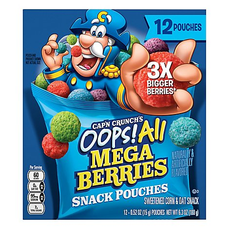 Captain Crunch Oops All Berries - 6.3 OZ