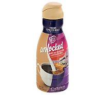 Coffee mate Unlocked Coffee Creamer Liquid Italian Espresso Roast - 32 Fl. Oz.