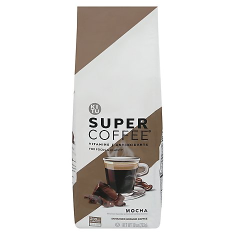 Super Coffee Mocha Grounds - 10 OZ
