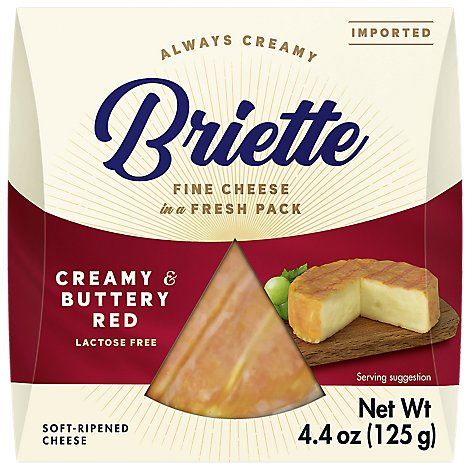 Briette Cheese Brie Creamy Buttery - 4.4 OZ