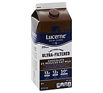 Lucerne Chocolate Milk Reduced Fat Ultra Filtered - 59 FZ